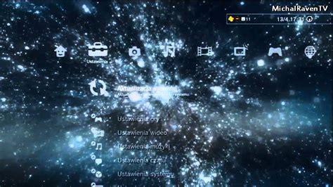galaxy themes ps3 dynamic galaxy theme ps3 youtube