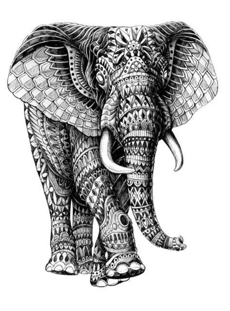 aztec elephant tattoo 25 aztec elephant tattoos collection