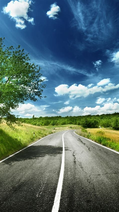 HD digital art wallpaper   road to the nature Wallpaper
