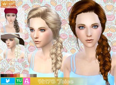 the sims 4 cc braids the sims 4 braided hair mod newhairstylesformen2014 com