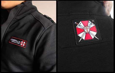 Hoodie Jaket Evil Corp Sweater Warung Kaos resident evil umbrella corporation costume sweatshirt hoodie coat jacket limited edition s