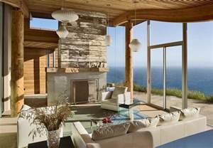 Dani ridge house located in big sur california was designed by carver