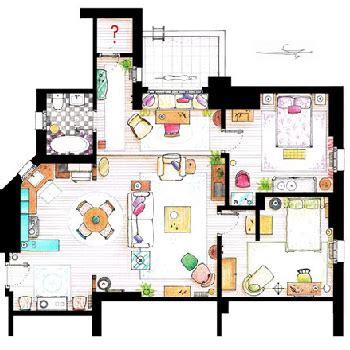 layout friends apartment quot friends quot rent control tv tropes