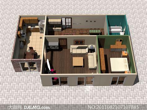 home design 3d per pc 室内家具摆设立体效果图高清图片 大图网设计素材下载