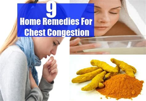 home remedies for chest congestion treatments
