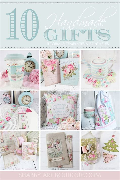 Handmade Gift Tutorials - 10 handmade gift tutorials shabby boutique