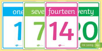 printable numbers 1 20 display numbers 0 20 cards numbers 1 20 numeracy maths display
