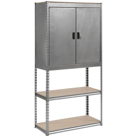 outdoor storage cabinet with shelves bunnings handy storage boltless 5 shelf unit bunnings