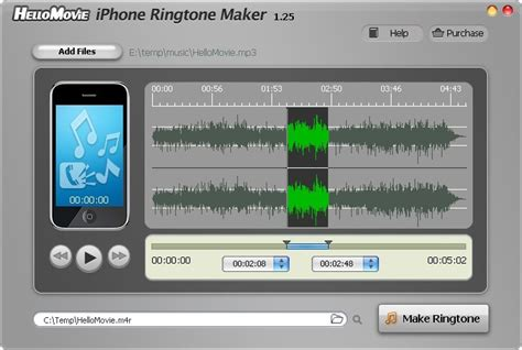 iphone themes maker software screenshot review downloads of shareware hellomovie