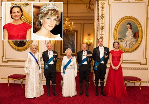 kates palace duchess of cambridge wears princess diana s tiara for rare