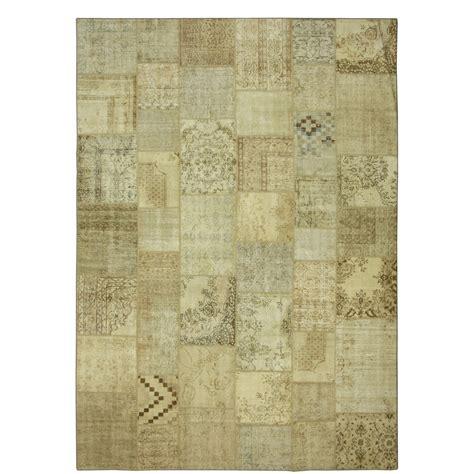 Patchwork Vintage Rugs - vintage patchwork rug 431x302cm