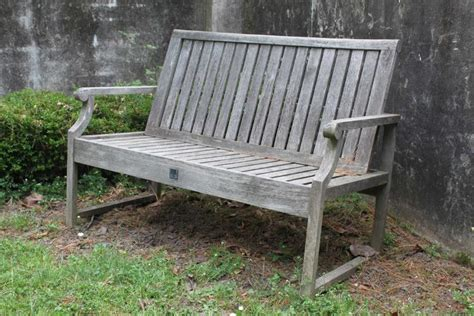 outdoor benches sydney a teak two seater garden bench made by the australian squat
