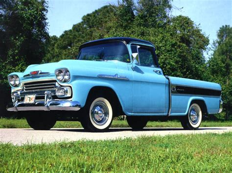 Car Interior Upholstery Cleaner Rare Cameo Carrier 1957 Chevrolet Task Force Driving