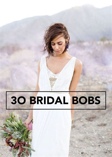 Wedding Hairstyles For Bob Cuts by 30 Ways To Style Hair For Your Wedding Bridal Hair