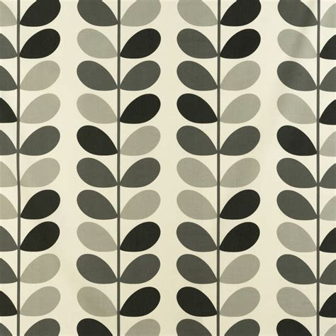 Multi Stem   Warm Grey fabric   Orla Kiely Prints Volume 1   Ashley Wilde