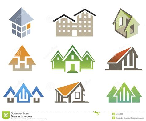 vector house elements royalty free stock photos image
