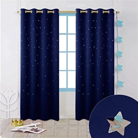 Rideaux Bleu Nuit by Rideau Bleu Nuit Etoile