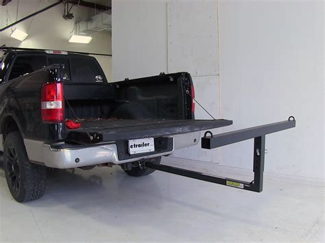 extend a bed darby extend a truck hitch mounted load extender roof or