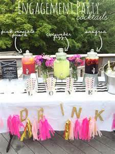 Backyard Bridal Shower Ideas Throwing A Summer Engagement Party Eat Yourself Skinny