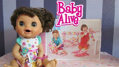 Baby Alive Doll Crib Set Circo Deluxe Nursery Playset Baby Alive Crib