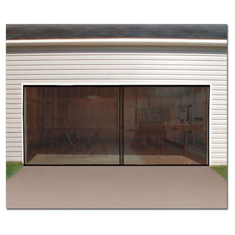 Garage Door Patio 2 Car Garage Door Screen Enclosure Turn Your Garage Into A Patio Ebay