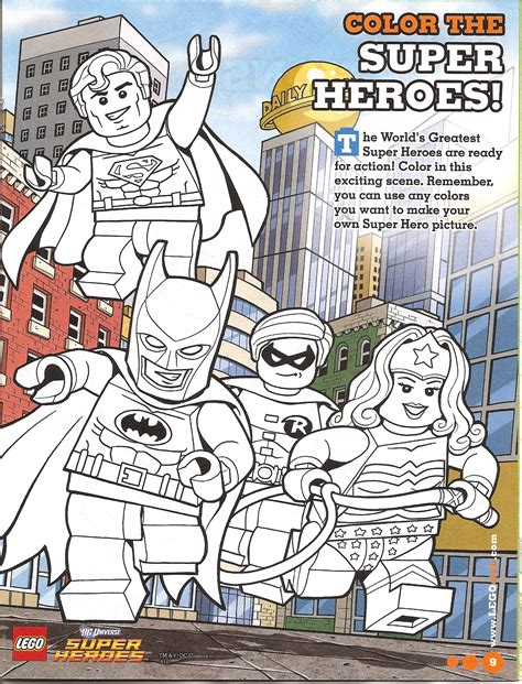 lego adventures coloring pages lego batman 2 dc super heroes free coloring pages