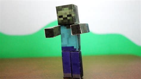 How To Make A Minecraft Out Of Paper - how to make a minecraft paper