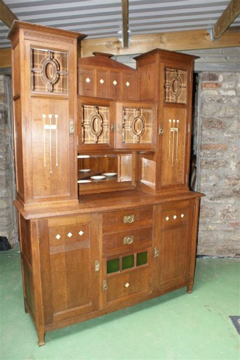 antique french dresser uk stunning french oak arts crafts buffet dresser 177540