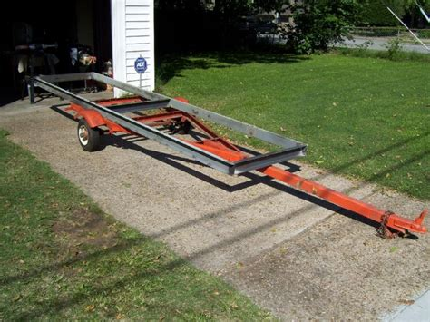 boat trailer tire balance home built portable chainsaw mill