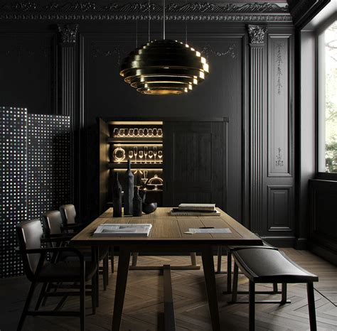 black dining room get some interior inspiration from instagram s 7 most