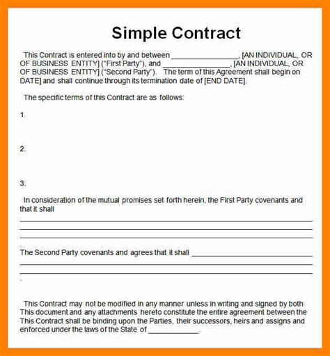 7 simple contract agreement sales clerked