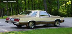 1980 Ford Fairmont 1980 Ford Fairmont Futura Coupe 2 Door 3 3l