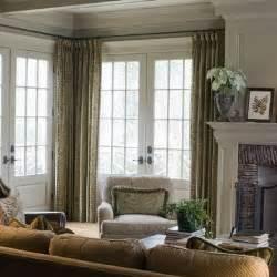 curtain rod turns the corner windows pinterest