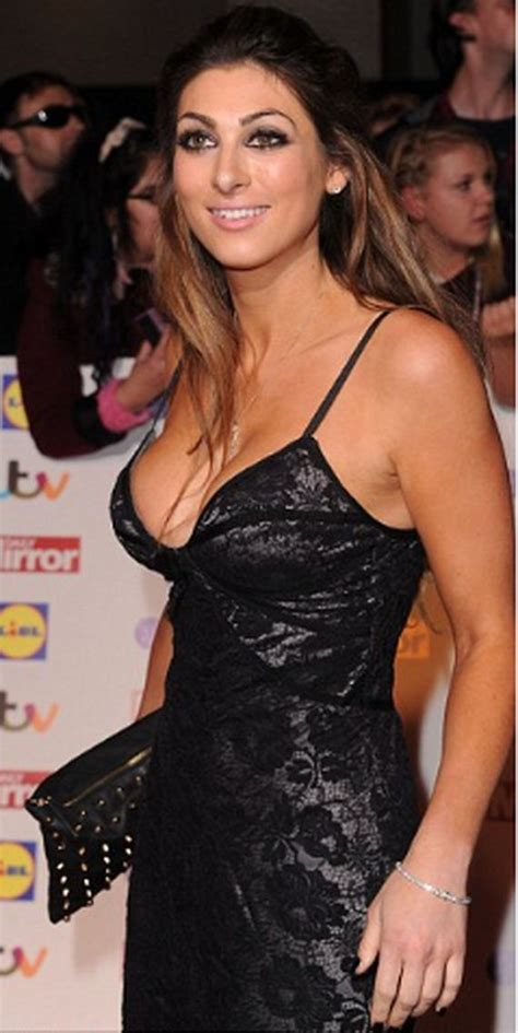 luisa zissman nearly falls out of her very low cut dress careful luisa zissman nearly falls out of her very low