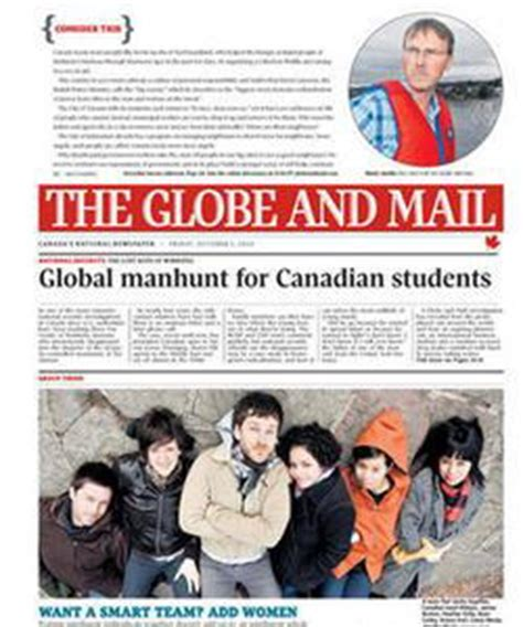 globe and mail careers section how do you like the new globe and mail the tyee