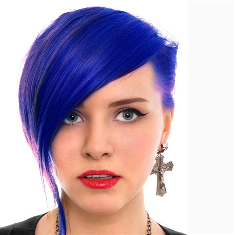 permanent blue hair color manic panic semi permanent hair dye blue moon