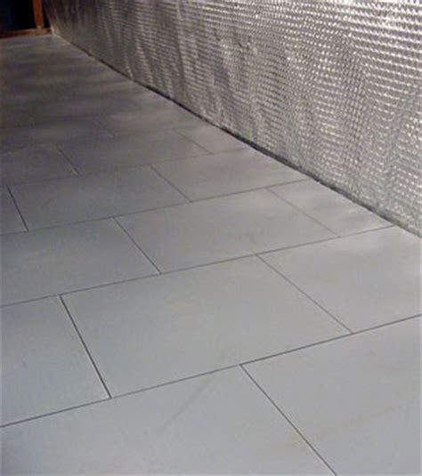 ThermalDry® Tiled Basement Sub Floor Matting
