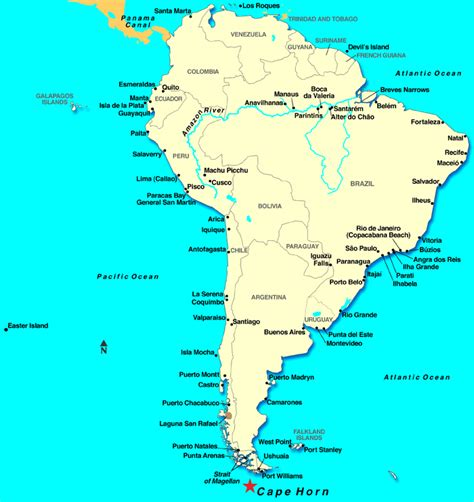 south america map cape horn cape horn discount cruises last minute cruises