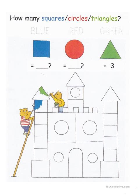 colors shapes and counting colors shapes counting to 20 and letter tracing