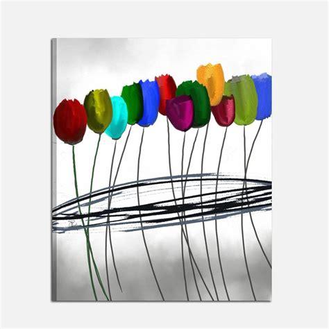 quadro fiori moderno quadro moderno dipinto a mano con fiori profumo di natura