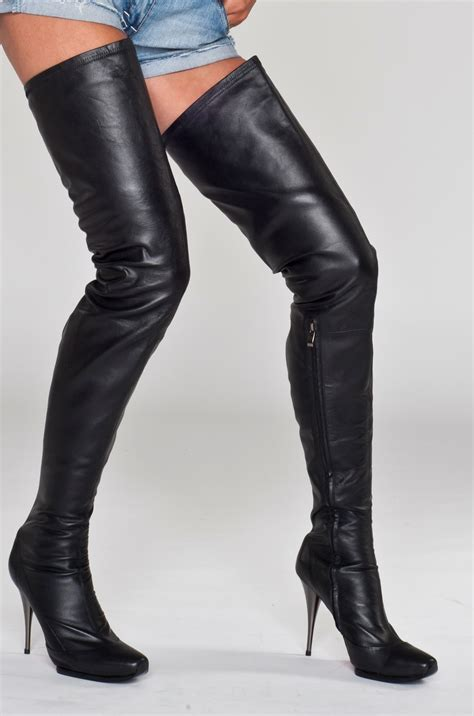 thigh high boots arollo thigh high boots 2011