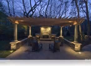 Outdoor Pergola Lighting Ideas by Attractive Pergola Lighting Ideas Patio Design