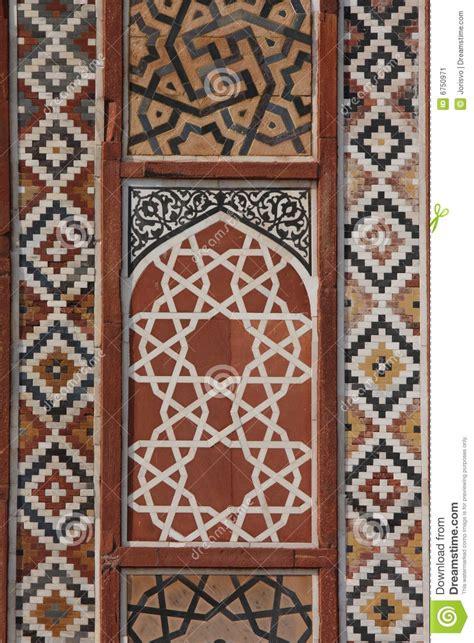mughal architecture stock image image