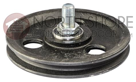 garage door pulley garage door 5 1 2 quot sheave pulley with bolt