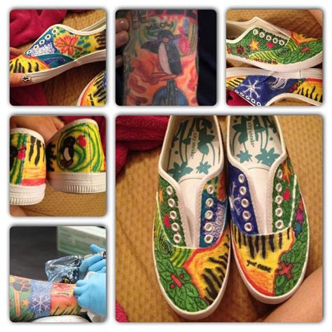 ed sheeran tattoo sneakers ed sheeran tattoo on shoes i just used canvas shoes