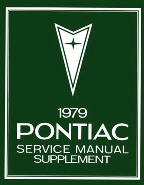 service manual buy car manuals 1985 pontiac bonneville electronic valve timing how can i 1979 pontiac bonneville firebird prix shop service repair manual book supplement ebay