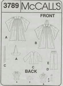 Home Decorating Fabric Mccalls Pattern 3789 Costume Wizard Gandolf Star Wars