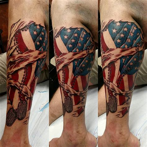 patriotic tattoos 85 best patriotic american flag tattoos i usa 2019