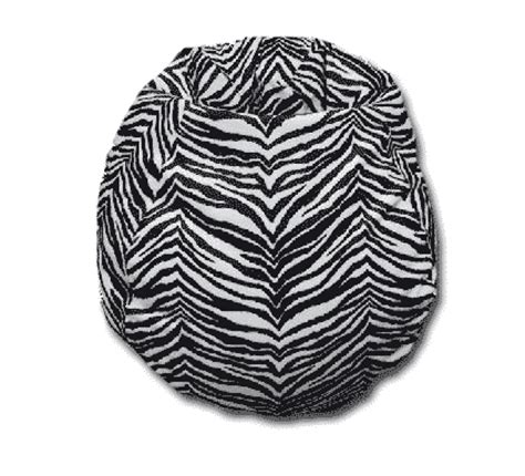 Zebra Print Futon by Futon Planet Zebra Print Bean Bag By Futonplanet