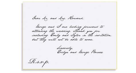 bellinvito updates mind  rsvps qs formal response card etiquette